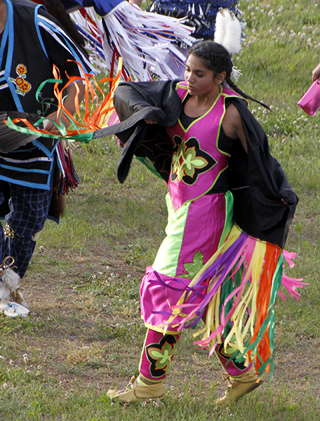 Dancer at July 4th Pow Wow
